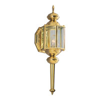 Progress Lighting BrassGUARD 1 Light Outdoor Wall in Polished Brass P5758-10