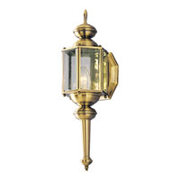 Progress Lighting BrassGUARD 1 Light Outdoor Wall in Antique Brass P5758-11