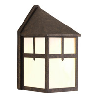 Progress Lighting Mission 1 Light Outdoor Wall Lantern in Weathered Bronze P5760-46