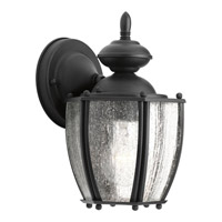 Progress Lighting Roman Coach 1 Light Outdoor Wall Lantern in Black P5762-31
