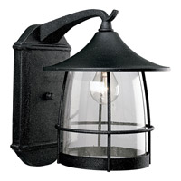 Prairie 1 Light 14 inch Gilded Iron Outdoor Wall Lantern