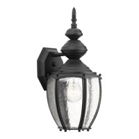 Progress P5765-31 Roman Coach 1 Light 15 inch Black Outdoor Wall Lantern