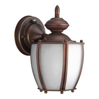 Progress Lighting Roman Coach 1 Light Outdoor Wall in Roman Bronze P5766-19STR