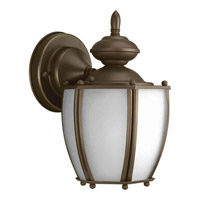 Progress Lighting Roman Coach 1 Light Outdoor Wall Lantern in Antique Bronze P5766-20