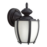 Progress Lighting Roman Coach 1 Light Outdoor Wall in Black P5766-31STR