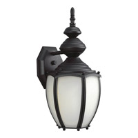 Roman Coach 1 Light 15 inch Black Outdoor Wall Lantern