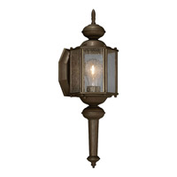 Progress Lighting Roman Coach 1 Light Outdoor Wall Lantern in Antique Bronze P5773-20
