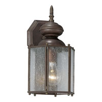 Progress Lighting Roman Bronze 1 Light Outdoor Wall in Roman Bronze P5777-19