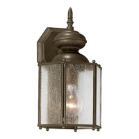 Progress Lighting Roman Coach 1 Light Outdoor Wall Lantern in Antique Bronze P5777-20