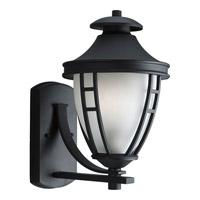 Progress Lighting Fairview 1 Light Outdoor Wall in Textured Black P5778-31