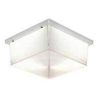 Hard-Nox 2 Light 4 inch White Outdoor Wall Lantern in Prismatic