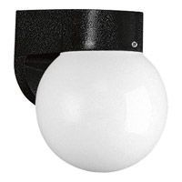 Progress Lighting Non-Metallic 1 Light Outdoor Wall in Black P5816-31WB