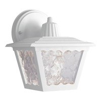 Progress Lighting Polycarbonate Outdoor 1 Light Outdoor Wall in White P5818-30