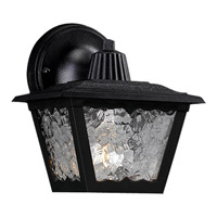 Polycarbonate Outdoor 1 Light 8 inch Black Outdoor Wall Lantern