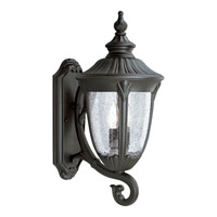 Progress Lighting Meridian 2 Light Outdoor Wall in Textured Black P5823-31