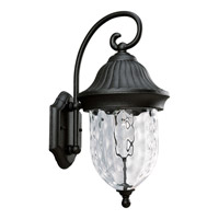 Progress P5828-31 Coventry 1 Light 17 inch Textured Black Outdoor Wall Lantern