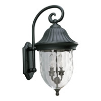 Coventry 2 Light 21 inch Textured Black Outdoor Wall Lantern