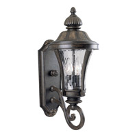 Nottington 2 Light 20 inch Forged Bronze Outdoor Wall Lantern