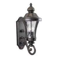 Progress P5835-77 Nottington 2 Light 20 inch Forged Bronze Outdoor Wall Lantern