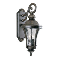 Progress Lighting Nottington 2 Light Outdoor Wall Lantern in Forged Bronze P5836-77