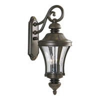 Progress Lighting Nottington 3 Light Outdoor Wall in Forged Bronze P5837-77