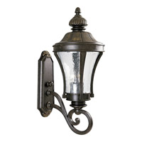 Nottington 3 Light 25 inch Forged Bronze Outdoor Wall Lantern
