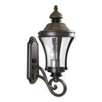 Progress P5838-77 Nottington 3 Light 25 inch Forged Bronze Outdoor Wall Lantern