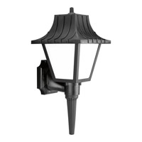 Progress Lighting Non-Metallic 1 Light Outdoor Wall in Black P5843-31WB