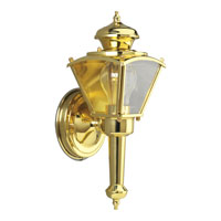 Progress Lighting BrassGUARD 1 Light Outdoor Wall in Polished Brass P5845-10