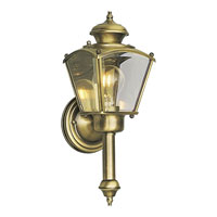 Progress Lighting BrassGUARD 1 Light Outdoor Wall in Antique Brass P5846-11