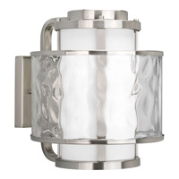 Progress Lighting Thomasville Bay Court Outdoor 1 Light Outdoor Wall Lantern in Brushed Nickel P5851-09 photo thumbnail