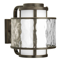 Progress Lighting Thomasville Bay Court Outdoor 1 Light Outdoor Wall Lantern in Antique Bronze P5851-20 photo thumbnail