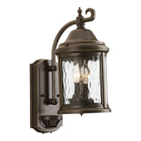 Progress P5854-20 Ashmore 2 Light 15 inch Antique Bronze Outdoor Wall Lantern