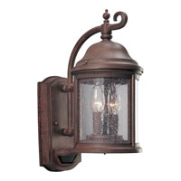 Progress P5854-33 Motion Sensor 2 Light 15 inch Cobblestone Outdoor Wall Lantern photo thumbnail