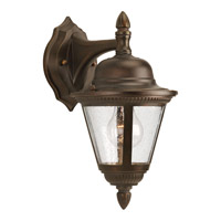 Westport 1 Light 13 inch Antique Bronze Outdoor Wall Lantern in Bulbs Not Included, Clear Seeded