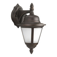Progress P5862-20STR Westport 1 Light 13 inch Antique Bronze Outdoor Wall Lantern in Bulbs Not Included, Energy Star Rated, Frosted Seeded photo thumbnail