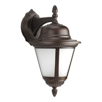 Progress P5863-20WB Westport 1 Light 16 inch Antique Bronze Outdoor Wall Lantern in Bulbs Included Etched Seeded