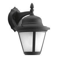 Westport LED 13 inch Black Outdoor Wall Lantern in Integrated LED, Etched Seeded