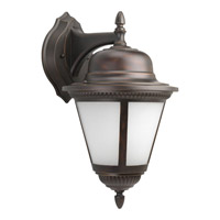 Westport 1 Light 19 inch Antique Bronze Outdoor Wall Lantern in Bulbs Included, Etched Seeded