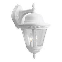 Progress Lighting Westport 2 Light Outdoor Wall Lantern in White P5864-30