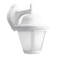 Progress P5864-3030K9 Westport LED 15 inch White Outdoor Wall Lantern in Integrated LED Etched Seeded