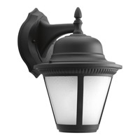 Progress P5864-3130K9 Westport LED 15 inch Black Outdoor Wall Lantern in Integrated LED Etched Seeded