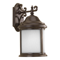 Progress P5875-20WB Ashmore 1 Light 17 inch Antique Bronze Outdoor Wall Lantern