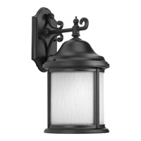 Progress P5875-31WB Ashmore 1 Light 17 inch Black Outdoor Wall Lantern
