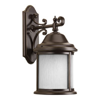 Progress Ashmore 1 Light Outdoor Wall Lantern in Antique Bronze P5876-20WB