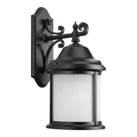 Progress Ashmore 1 Light Outdoor Wall Lantern in Black P5876-31WB