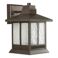 Greenridge LED 11 inch Antique Bronze Outdoor Wall Lantern