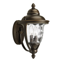 Prestwick 2 Light 14 inch Oil Rubbed Bronze Outdoor Wall Lantern