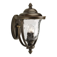 Progress P5923-108 Prestwick 3 Light 17 inch Oil Rubbed Bronze Outdoor Wall Lantern