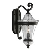 Progress Lighting Seirenes 2 Light Outdoor Wall in Textured Black P5937-31